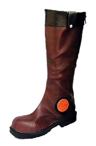 Bromeo Yu-Gi-Oh! 5Ds Yusei Fudo Cosplay Chaussure Bottes Boots
