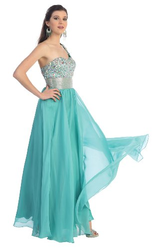 Beaded evening gown-MINT-16