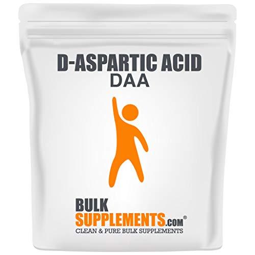 BulkSupplements D-Aspartic Acid (DAA) Powder (500 Grams)