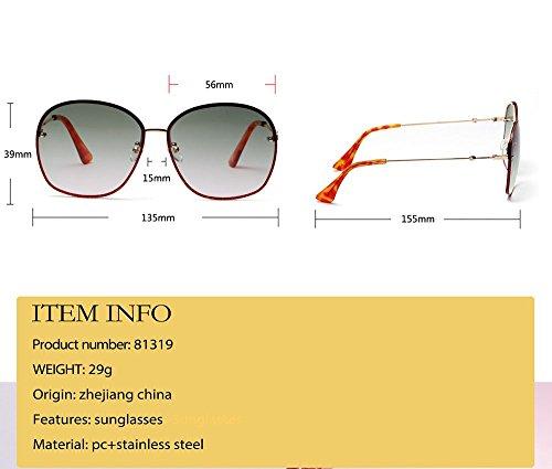 Réfléchissantes Réfléchissantes Rondes Polarisés Modernes Protection soleil Lunettes Vintage Steampunk Femme Classique Beams Lunettes de 7qXvwOz
