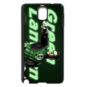 Linterna verde Samsung Galaxy Note caja del teléfono celular 3 funda Negro caja del teléfono celular Funda Cubierta EEECBCAAH01911