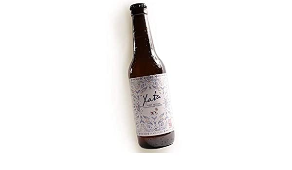 Cerveza artesana con chufa XATA - 1 botella 33cl -: Amazon.es ...