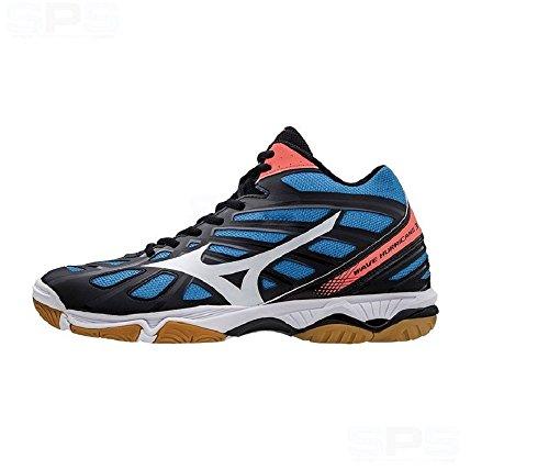 Mizuno Wave Hurricane 3 Mid - Scarpa Pallavolo Uomo - Men's Volleyball Shoes - V1GA175401 (EU 47 - CM 31.0 - UK 12 - US 13)