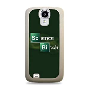 Science Bitch Breaking Bad White Silicone Protective Case Cover for Samsung Galaxy S5