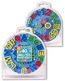 : ABC 123 Cutters & Dough Set