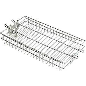 3618 Rotisserie Basket, Fish Basket, Flat Stainless-Fire Magic