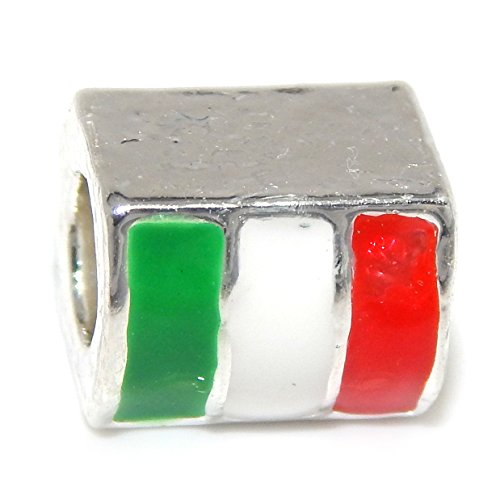 Belle Italian Charm (Silver Plated