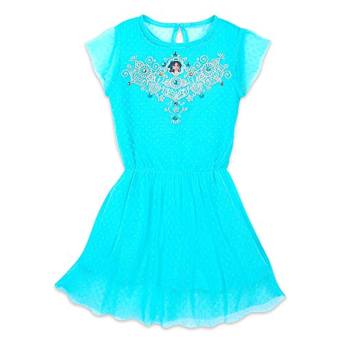 Disney Jasmine Drop-Waist Dress for Girls Size 9/10 - Aladdin - Live Action Film