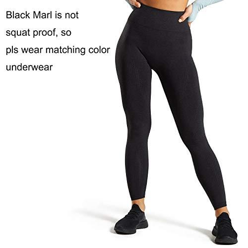 Aoxjox Women's High Waist Workout Gym Vital Seamless Leggings Yoga Pants