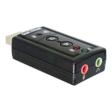Tarjeta de sonido externa USB 7.1 Chipset CMEDIA CL-SU4CHA ...