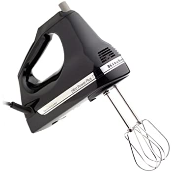 KitchenAid KHM7T 7-Speed Hand Mixer, Onyx Black