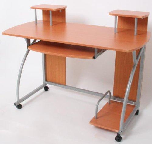 Homy - Escritorio Mesa de Ordernador OHIO, dimensiones 90x115x55cm ...