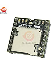 DFPlayer Mini MP3 Player Module TF Card U Disk Mini MP3 Player Audio Audio Decoder Board for Arduino DF Play I/O Serial Port AD
