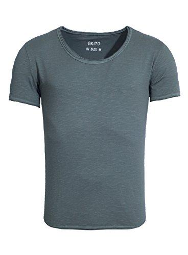 Homme Vert Basic T Tanaka Akito Été Modern shirt New Camaïeu RxfFwqP5