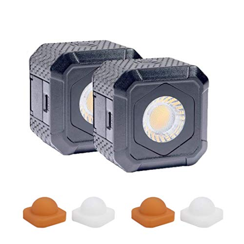 Lume Cube AIR LED Light for Photo, Video & Content Creation - Two Pack