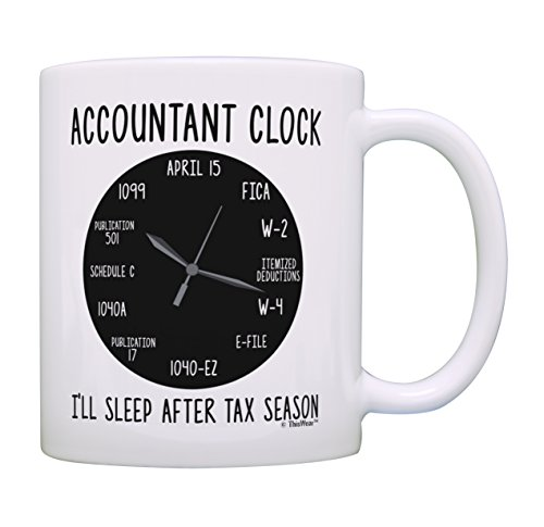 Accounting Gifts Accountant Clock I