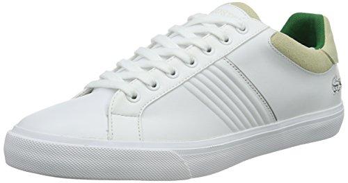 Lacoste FAIRLEAD 316 2 - Zapatillas para hombre Blanco (Wht 001)
