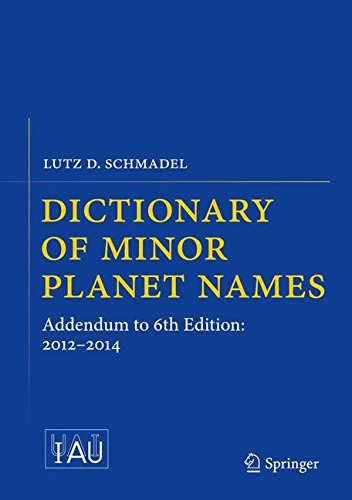 Dictionary of Minor Planet Names: Addendum to 6th Edition: 2012-2014