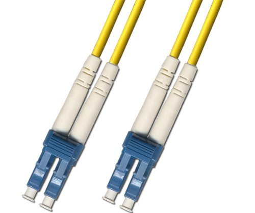Duplex Single Mode Patch - 1 Meter Singlemode Duplex Fiber Optic Cable (9/125) - LC to LC - Yellow