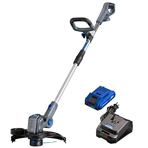 Westinghouse Cordless Weed Wacker/Edger, 2.0 Ah Battery and Rapid Charger Included