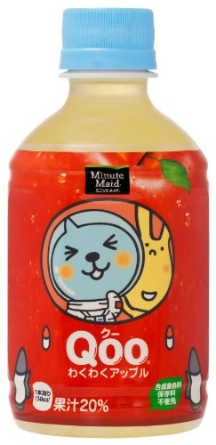 280mlX24 this Coca-Cola Minute Maid Koo excited about Apple by Minute Maid