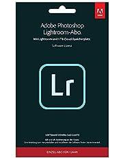Adobe Lightroom 1TB | 1 Jahr | PC/Mac | Key Card und Download