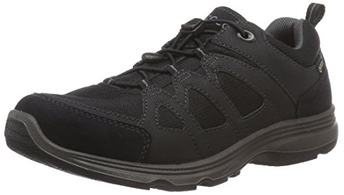 Damen LIGHT Fitnessschuhe IV Black Schwarz Ecco 51052black Outdoor E1wqPE4