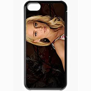 Personalized iPhone 5C Cell phone Case/Cover Skin Amber Heard Black by supermalls