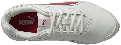 Puma escaper SL Jr, Zapatillas Unisex Niños Blanco (White-love Potion)