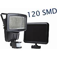 New 120 LED Solar Powered Super Bright Motion Sensor Security Flood Light Garden Outdoor Spot Lamp