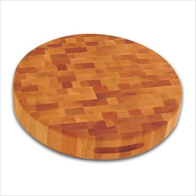 Catskill Craftsmen 17-Inch Round Slab, Reversible (Best Type Of Wood For Cutting Board)