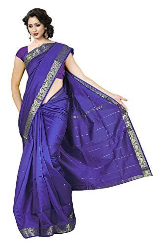 KoC Indian Traditional Ethnic Women wear Art Silk Saree -Violet]()