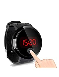 Touch Watch,Bessky® Fashion Men LED Touch Screen Watch Day Date Silicone Wrist Watch Digital LED Watch