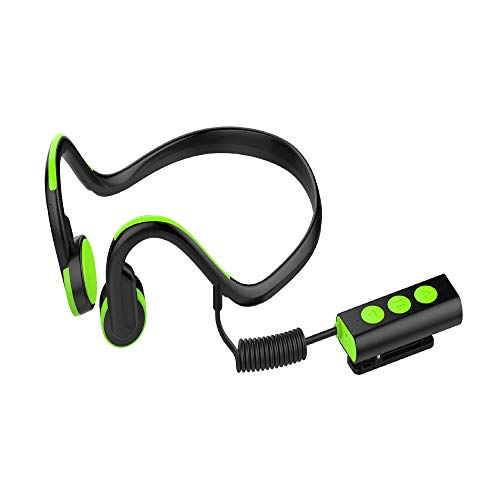 LQHLP New Waterproof and Sweat-Proof Bone Conduction Bluetooth Headset Reflective Warning Separation Call Headset