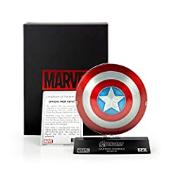 From the team that brought the Marvel Legends to life. The supersoldier's first line of defense -- his shield -- can now be yours, and in a much more portable form. Utilizing the same master patterns cast from the original molds used to make ...