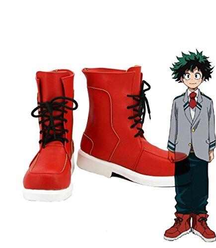 (My Hero Academia Boku no Hero Academia Izuku Midoriya Cosplay Shoes Boots Custom)