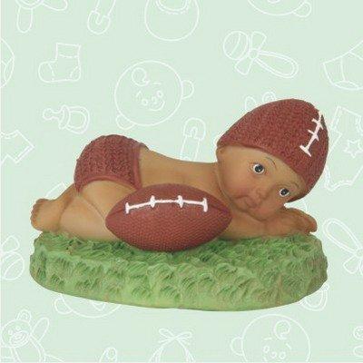 48 Ethnic Baby Shower Baby Boy Football Favor in Box Favors Gift Keepsake Favor