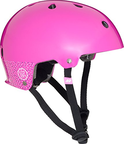 K2 Skate Jr Varsity Girls Helmet, Purple, Medium