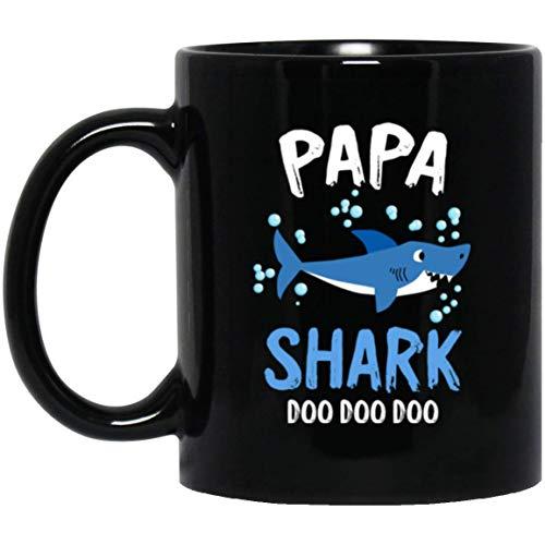 Papa Shark Doo Doo Halloween Coffee Mug Decorations Gifts ()