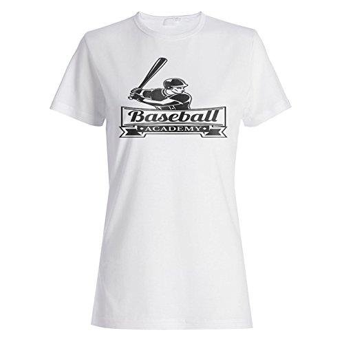 Academia De Béisbol Deportes Ee.Uu. camiseta de las mujeres m705f
