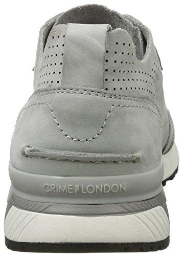 Brotts London Mens Skor Ofodrad Grå Mod 11522s17b 100% Läder