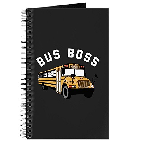 Bus Notepad - CafePress - Bus Boss - Spiral Bound Journal Notebook, Personal Diary, Lined