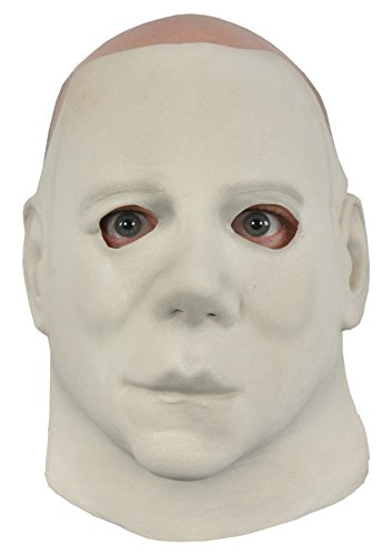 Michael Myers Clown Costumes (UHC Men's Halloween II Michael Myers Economy Horror Theme Party Latex Mask)