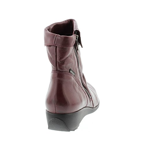 Femme 7974 Mephisto 7900 Noir Chianti Chaussure Bottine cuir SEDDY nYxA1wqY