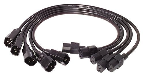 - APC AP9890 0.6m C13 to C14 Power Cord Kit - 5 Pack