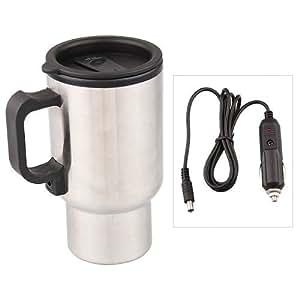 12V Termo Taza Electrico Calentador pa Café Mechero Coche