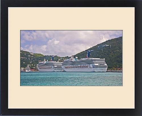 framed-print-of-carnival-cruise-line-ships-truimph-and-gloryaquot