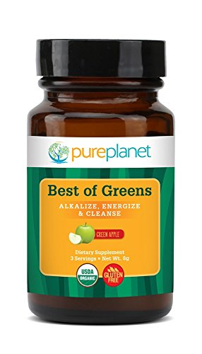 Best Of Greens Organic Green Apple Pure Planet Products 75 gm Powder