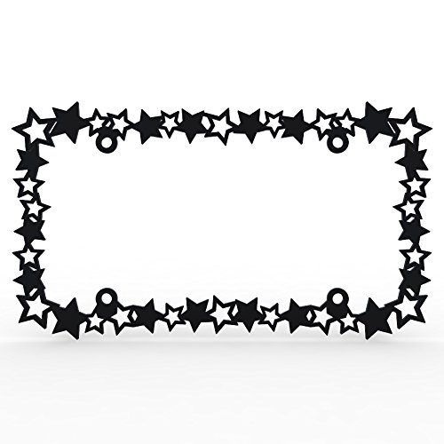 stars license plate frame - 1