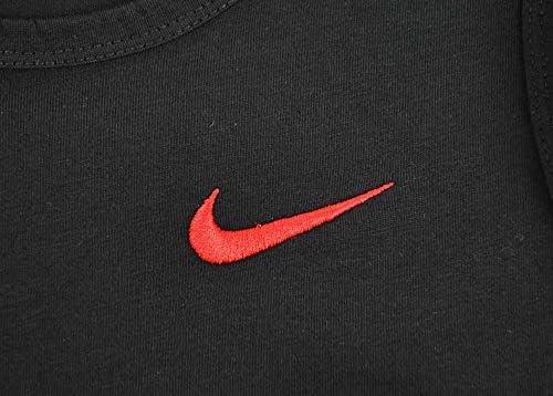 Nike Core Veste Hommes Coton Fitness Muscle Chemise Shirt NoirRouge